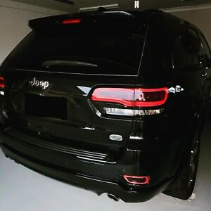 Fits Jeep Grand Cherokee 2014+ Black Out kit Vinyl & Tint For Chrome & Lights