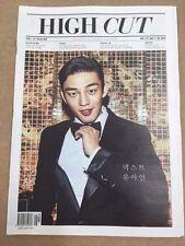 HIGH CUT VOL.171 Korean Magazine BTS Bangtan Boys YooAhln Red Velvet -tube case