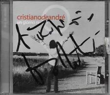 """CRISTIANO DE ANDRE' - RARO CD FUORI CATALOGO CON AUTOGRAFO """" UN GIORNO NUOVO """""""