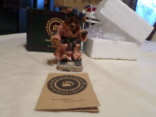 "Boyds Bears And Friends "" Ms. Griz.Saturday Night "" Lnib 5Th Edition 1996"