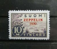"Finland 1930 C1 ""Year Error"" Zeppelin Overprint  Reproduction Copy Place Holder"