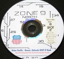 "Union Pacific ""SPOT-IT"" Books - Zones 1-13 - Denver Colorado - PDF File on DVD"