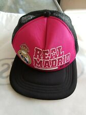 Real madrid fc soccer cap hat trucker official mesh authentic football