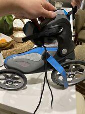 LandRoller Terra 9 Rollerblades Skate Angled Wheel Technology Mens Sz 12