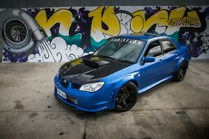 2006-2007 WRX/STI Sideskirt Extensions and Rear Pods - HT Autos Genuine