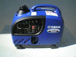 Yamaha EF1000 Is Inverter Generator, less than three hours (factory warranty )