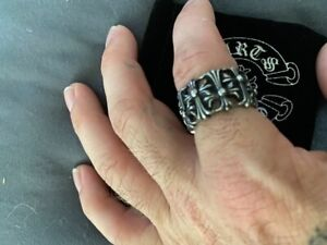chrome hearts ring size 10