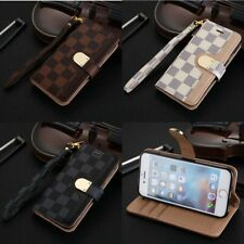 Luxury Fashion Leather Wallet Flip Case Cover For iPhone 12 11 pro XS 6 7 8 plus