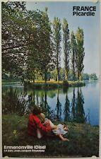 Affiche France PICARDIE ERMENONVILLE Oise - Ann.'60 - Tourisme