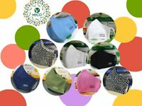VECO Antimicrobial Reusable Washable Cotton Fabric Face Mask