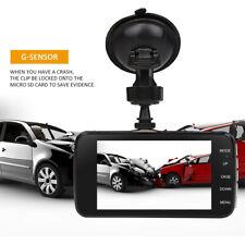 1080p 170° Dual Lens Car Dash Cam Front and Rear Camera Dashboard DVR Recorder
