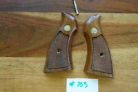 Smith & Wesson N Frame Grips Square Butt Type Original Condition W/ Screw