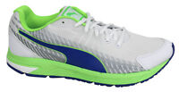 Puma Sequence V2 White Green Mens Lace Up Trainers 188531 06 D68