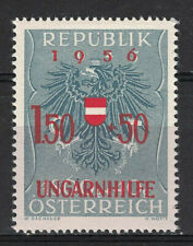 AUSTRIA:1956 SC#B298 MINT OG The surtax was for Hungarian refugees m428