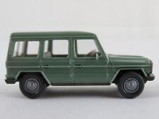 Wiking 266/4D Mercedes-Benz 230 G (1979) in h´resedagrün 1:87/H0 guter Zustand