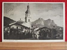 Fotokarte - Kastelruth in Tirol mit Schlern - gel 1915 - Trentino-Südtirol