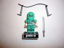 KRE-O GI JOE COBRA NINJA VIPER Mini Action Figure Kreo Kreon COMPLETE w/STAND