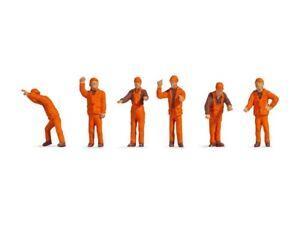 Noch 38011 Personnel de Gare, Figurines Voie N (1:160)