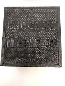 Ancienne Boite Publicitaire Chocolat Menier