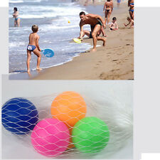4 Palline per Racchette da Spiaggia mare campagna parco giochi tennis ping pong