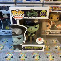 Funko Pop! The Munsters Herman Munster #868 Walgreens Exclusive