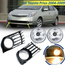 Pair Front Bumper Fog Light Lamps w/ Bulbs + Cover For 2004-2009 Toyota
