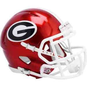 Georgia Bulldogs  NCAA Unsigned Riddell FLASH Alternate Revolution Speed Mini