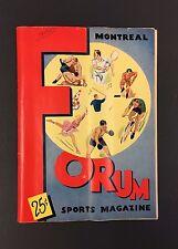 1953 Montreal Royals vs Quebec Aces Jacque Plante In Goal Jean Beliveau Hockey