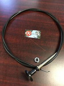 Exmark 126-6945 Choke Control Cable Quest Radius E S X Series