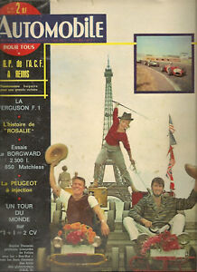 L'AUTOMOBILE 184 1961 BORGWARD 2300 GP DE L'ACF GP ANGLETERRE FERGUSON F1 4X4