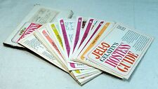 Vintage Jell-O Gelatin's Hostess Guide Card Set Original Mailing Package