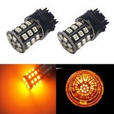 JDM ASTAR Amber 3157 3457 SRCK CK Socket AX-2835 SMD Turn Signal Light LED Bulbs