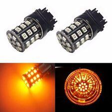 JDM ASTAR Amber 3157 3457 SRCK CK Socket AX-2835 SMD Turn Signal Light LED Bulbs