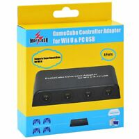 MAYFLASH 4 Ports GameCube Controller Adapter for Wii U & PC Super Smash Brothers