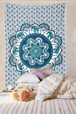 Indian Mandala Bedspreads Tapestry Wall Hanging Wall Decor Cotton Bed Cover Twin