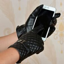 Warm Male Fashion Leather Touch Screen Winter Gloves Mittens Driving Gloves