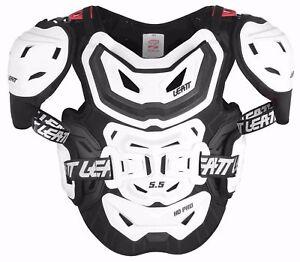 Leatt Adult Chest Protector 5.5 Pro HD Body Armor Back Support BMX MX Moto ATV