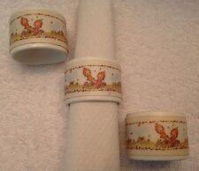 Betsey Clark,Napkin Rings,Set of 3, Hallmark Collection,1970's,Ha llmark,Retired