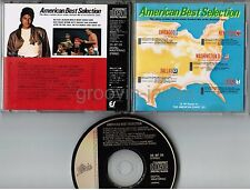 MICHAEL JACKSON, etc American Best Selection VA JAPAN CD 35.8P-35 w/16p BOOKLET