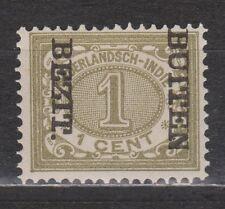 Nederlands Indie Netherlands Indies 82f MLH CANCEL BUITEN BEZIT kopstaand 1908