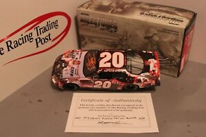 2005 Tony Stewart Milestones First Cup Win 1/24 Action Diecast Autographed