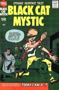 Black Cat Mystic Comics #59 Photocopy Comic Book