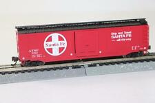 Bachmann US N 1:148 50' Sliding door box car Santa Fe 19454 FNQHobby
