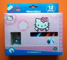 PENNARELLI HELLO KITTY + PENDENTE CELLULARE idea regalo NUOVO Giochi Preziosi