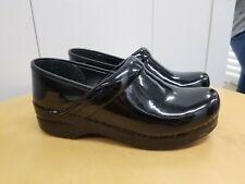 DANSKO Women's US 8.5 - 9, EU 39 BLACK Patent Leather Nursing, Comfort Clogs