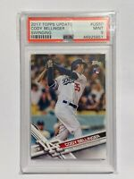 2017 Topps Update Cody Bellinger ROOKIE RC #US50 PSA 9 MINT