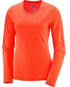 Salomon Women's Agile LS Tee Long Sleeve Running Shirt
