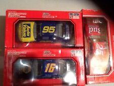 NASCAR Diecast 16 Stub Fadden NAPA 95 Auto Value 25 BUD Budweiser Schrader 1/24R