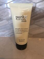 PHILOSOPHY Purity Made Simple Deep Clean Mask 6oz Facial Cleanser New Sealed
