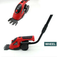 New 3in1 3.6V Cordless Rechargeable Electric Handheld Grass Cutter Hedge Trimmer